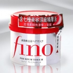 Shiseido Fino Premium Touch 230 g. ครีมหมักผมสำหรับผมแห้งเสียมากที่ซาลอนและสาวเอเชียต่างยอมรับว่าช่วยบำรุงลึกถึงรากผม ทำให้ผมสุขภาพดีทั้งภายในและภายนอก ผมนุ่ม เงางาม มีสปริง ผมที่แห้งเสียกลับมานุ่มสลวย มีน้ำหนัก เป็นประกาย