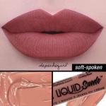 NYX Liquid Suede Cream Lipstick เบอร์ 04 Soft-Spoken ลิปสติกเนื้อแมทท์ที่เนียนนุ่มเหมือนกำมะหยี่ ทาปุ๊ปปากเรียบเนียนปั๊ป แถมสีชัดมากๆ กลบสีปากคล้ำๆได้สนิท ติดทนใช้ได้เลย แต่ละสีทั้ง 12 เฉดสีนั้นจี๊ดมากจริงๆ