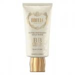 Mille Super Whitening Gold Rose BB Cream SPF30 PA++ ไซส์จริง 30g. #No.01 Silky Ivory สำหรับผิวขาวสว่างกระจ่างใส เนื้อ BB ครีมเทคโนโลยีล่าสุดจากเกาหลี ที่ได้รับการรับรองคุณภาพในทุกขั้นตอน ให้สัมผัสเบาสบายผิว ซึมซาบเร็ว ไม่เป็นขุย