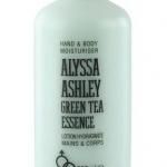 Alyssa Ashley Green Tea Essence Lotion Hydratante 500 ml. โลชั่นมัคส์สูตรเอสเซ็นส์ชาเขียวจากประเทศอิตาลี ช่วยให้ผิวขาวใส ประกายออร่า กระชับผิวให้แลดูกว่าวัย กลิ่น white musk ผสมชาเขียวอ่อนๆ เนื้อครีมเข้มข้น ให้ความชุ่มชื้นไม่เหนียวเหนอะหนะ