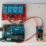 Android Arduino USB Control 4 Relays Kit