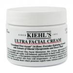 Kiehl's Ultra Facial Cream 125 ml. ผลิตภัณฑ์เพิ่มความชุ่มชื้นและน้ำหล่อเลี้ยงผิวตลอด 24 ชั่วโมง คุณจึงรู้สึกสบายผิวและพบว่าผิวคืนสภาพสู่ภาวะสมดุล โดยเฉพาะอย่างยิ่งเมื่อต้องเผชิญสภาพอากาศที่เป็นอันตรายต่อผิว อุดมด้วย Antarcticine