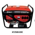 **เครื่องกำเนิดไฟฟ้า เครื่องปั่นไฟฟ้า polo 2 กิโลวัตต์ รุ่น KT-2500DDC สตาร์ทไฟฟ้า