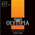 สายกีต้ารโ์ปร่งชุด 011-050 ยี่ห้อ Olympia AGS900