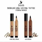 Babalah Long Lasting Tattoo Eyebrow Marker ปากกาเมจิกสักคิ้ว บาบาร่า ติดแน่นทนนาน กันน้ำ เหมาะกับการเขียนคิ้วก่อนไปเล่นน้ำ ลงทะเล เป็นอย่างมาก