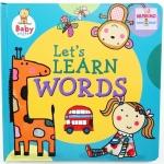 หนังสือรวมคำศัพท์ Baby Steps : Let's Learn Words (Katie Saunders)