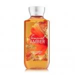 Bath&Body Works Sensual Amber Shower Gel 236ml. เจลอาบน้ำกลิ่นหอมติดกายนานตลอดวัน กลิ่นจะหอมวนิลานุ่มผสมกับกลิ่นเปรี้ยวซนแบบลูกอม ให้ความรู้สึกร่าเริง และอบอุ่น