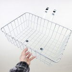 Wald 1372 Front Basket Silver