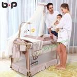B10123 (BP1) เตียงPlay Pen เปลนอนเด็กเล็ก พร้อมแผ่นรองเปลี่ยนผ้าอ้อม