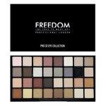 Freedom Pro 32 Palette Innocent Collection พาเลทอายเชโดว์แบรนด์ใหม่จากอังกฤษที่ห้ามมองผ่านโดยเด็ดขาด เพราะอัดแน่นด้วยอายเชโดว์สีสวยถึง 32 สี ใช้จริงได้ทุกสี เนื้อสีแน่นชัด ติดทน โทนสีธรรมชาติ และมีสีเข้มมาให้แต่งโทนสโมคกี้ หรือใช้คัดเบ้า เน้นตาให้กลมโต ใช
