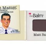 The Balm Meet Matt(e) : Matt Batali Eyeshadow ขนาดทดลอง 0.9g. สีน้ำตาลเข้มอมเทา อายแชโดว์เนื้อ Matte สีสวยจาก theBalm สำหรับสาวๆ ที่ชอบเนื้อด้าน ไม่มีวิ้งค่ะ เนื้อสีติดทน แต่งง่าย Matt Batali จะไว้คัดเบ้า แต่งสโม๊กกี้อาย หรือเบลนทั่วเปลือกตา