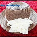 หมวกใส่เที่ยวทะเล หมวกสาน หมวกทรงปานามา หมวกแฟชั่น **รูปถ่ายจากสินค้าจริงค่ะ**