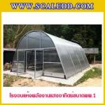 โรงอบแห้งพลังงานแสงอาทิตย์ (Solar Green House) ขนาด 6.00x8.20 เมตร พื้นที่รวม 49.2 ตารางเมตร แบบอบแห้งพพ.1 SOLARDOME-PP1