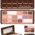 Too Faced Chocolate Bar Eye Shadow Collection พาเลตต์อายแชโดว์ที่ประกอบไปด้วย 16 เฉดสี สุดคุ้ม โทนสีน้ำตาลช็อคโกแลต สวยโดนใจมากๆ นู๊ดน้ำตาล ชมพู หวานเก๋ มีทั้งเนื้อแมทและเนื้อชิมเมอร์ ที่สามารถแต่งในชีวิตจริงได้มากๆ ทั้งกลางวันและกลางคืน
