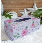 Tin Tissue Box กล่องทิชชู่ งานสังกะสี ขนาดใหญ่