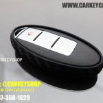 [SILICONE] CARBON CASE FOR NISSAN รุ่น SMARTKEY [3 ปุ่ม]
