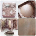 Urban Decay Naked Illuminated Shimmering Powder for Face and Body แป้งไฮไลท์ เนื้อเนียนนุ่ม บางเบา มาพร้อมตลับและแปรงในตัว พกพาสะดวก ใช้ง่าย ใช้ได้ทั้งใบหน้าและผิวกาย ช่วยเพิ่มมิติให้แก่ใบหน้า ใช้ไล้สันจมูกให้แลดูคม หรือไล้หน้าผากและปลายคางให้หน้ามีมิติ