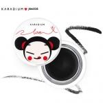 Karadium Pucca Creamy Gel Eyeliner 3.5g. เจลไลเนอร์ด้วยคอลเลคชั่นที่น่ารักจาก pucca กันน้ำ กันเหงื่อ เนื้อนุ่ม เขียนง่าย ติดทนนานไม่หลุดลอก