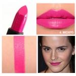 NARS Audacious Lipstick สี Michiyo (Shocking pink) ลิปสติกคอลเลคชั่นพิเศษที่รวมทุกความต้องการของผู้หญิงไว้ในแท่งเดียว เนื้อกึ่งแมทกึ่งครีมมี่ เนื้อสีแน่นชัด ปกปิดสีปากได้มิดชิด เกลี่ยง่ายแม้ทาเพียงรอบเดียว ทั้งสีสวยคมชัด ติดทนนาน ให้ความชุ่มชื้น และช่วยบำ