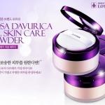 Lotree Rosa Davurica Oil Skin Care Powder 25 g. แป้งฝุ่นสุดหรูสูตรควบคุมมันบางเบาและปกปิดเป็นเลิศ ช่วยให้ผิวหน้าเรียบเนียน ผ่องสว่าง