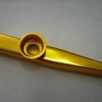 เครื่องเป่าคาซู (Kazoo) โลหะชุบสีทอง