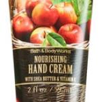 Bath&Body Works Weekend Apple Picking Nourishing Hand Cream 59 ml. ครีมทามือที่อุดมไปด้วยวิตามินอี และโจโจบาออยที่เข้มข้น กลิ่นแอปเปิ้ลหอมๆ ช่วยบำรุงมือให้เนียนนุ่มชุ่มชื่น ขนาดเล็ก