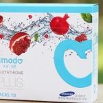 Amado ka-ne glutathione plus อมาโด้ กาเน่ กลูต้าไธโอน พลัส 10 เม็ด ราคา 750 บาท ส่งฟรี EMS