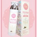 Baby Kiss Wip Cream CC Body Lotion SPF 45 PA+++ (สีขาว) ซี ซีบอดี้โลชั่น ด้วยเนื้อสัมผัสที่เบาบาง นาโน ไม่เหนียวเหนอะหนะ เกลี่ยง่าย ซึมซับทันทีที่ทา ไม่เป็นคราบ ติดทนนานตลอดวัน ป้องกันได้ทั้งน้ำและเหงื่อ