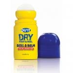 DU'IT Dry Foot & Heel Roll A Balm 50ml. ลูกกลิ้งทาส้นเท้าแตก เพื่อผิวเท้านุ่มชุ่มชื้นขึ้น ลดการแห้งแตกภายใน 1 สัปดาห์ ง่ายๆเพียงแค่เขย่าและทาที่ส้นเท้า วันละ 2-3ครั้ง และก่อนนอน ผลิตภัณฑ์คุณภาพยอดนิยมจากออสเตรเลีย