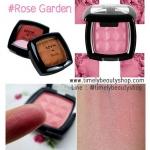 NYX Powder Blush # PB26 Rose Garden สีชมพูผสมชิมเมอร์สีทองเม็ดละเอียด ให้พวงแก้มดูหวานอิ่มสวยประกายสุขภาพดีค่ะ บลัชออนจาก NYX เนื้อสีแน่น ละเอียด สีสันสดใส ติดทนนานตลอดวัน สาวๆสามารถพกพาไปเพิ่มความสีสันให้กับใบหน้าได้ทุกที่ทุกเวลา มีสีให้เลือกหลากหลาย