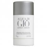 GIORGIO ARMANI Acqua Di Gio Alcohol-Free Deodorant Stick 75g. สติ๊กระงับกลิ่นกายจากน้ำหอมด้วยความหอมกลิ่น Acqua Di Gio ปราศจากแอลกอฮอล์ กลิ่นหอมสดชื่น กลิ่นที่ได้รับความนิยมมากที่สุด ด้วยกลิ่นหอมแนวสดชื่นจากท้องทะเลมหาสมุทร กรุ่นกลิ่นอ่อนๆจ