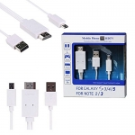 Mhl to HDMI สำหรับ Samsung Note3 / Note 4 / S5 / S4