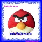 หมอนนวดเจ้านก Angry Bird ( ) เป็นหมอนนวดที่ช่วยนวดศรีษะสไตล์เจ้านก Angry Bird สี แดง