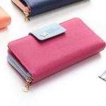 กระเป๋าสตางค์ผู้หญิง ทรงยาว รุ่น Cheer upl - Pink