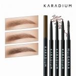 Karadium Skinny Eyebrow Pencil 0.08g. ดินสอเขียนคิ้วชนิดแท่งออโต้ เนื้อนุ่ม Skinny Eyebrow Pencil ปลายดินสอเล็กเพียง 0.15 มิลลิเมตร ให้การวาดโครงคิ้วคมชัดได้รูปเป็นเรื่องง่าย เม็ดสีสวยคมชัด กันน้ำติดทนนาน พร้อมแปรงปัดช่วยให้คิ้วของคุณเรียงเส้นสวยได้รูปเป็