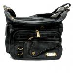 กระเป๋าสะพายยีนส์ YHAD สีดำ