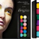 SLEEK i-Divine Ultra Mattes V1 Brights อายแชโดว์เนื้อแมทท์ สีสันสดใสมาก เม็ดสีแน่นๆ เนื้อmattทั้งพาเลตครั้งแรกของsleek (ราคาที่UKพาเลตนี้แพงที่สุดค่ะ) ให้คุณได้สนุกกับการแต่งหน้ากับอายแชโดว์ที่ให้สีชัด ติดทนนาน