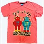 LB Vintage Robot-Pink