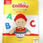 หนังสือคายูเรียน ABC / Caillou, My First ABC