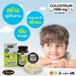 Auswelllife Colostrum 1000 mg โคลอสตรุ้ม แบบเม็ด