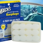 EAR PLUG mack's 6 pairs (waterproof)