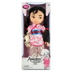 Animators' Collection Mulan Doll ตุ๊กตาเจ้าหญิงดิสนีย์ ตุ๊กตาแอนิเมเตอร์ มู่หลาน จากการ์ตูนเรื่องมู่หลาน Mulan (รุ่น 3 มีตุ๊กตาที่ข้อมือ) ขนาดความสูง 16 นิ้ว สินค้านำเข้า Disney USA แท้ 100% ค่ะ