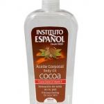 Instituto Espanol Cocoa Body Oil 400 ml. บอดี้ออยล์บำรุงผิวจากน้ำมันโกโก้ เพิ่มชั้นปกป้องเก็บล็อความชุ่มชื้น ช่วยให้ผิวนุ่มลื่น ผิวแห้ง ผิวผื่นคัน และแอนตี้ออกซิแดนซ์ ทำให้ดีต่อผิวแห้งมาก ที่ช่วยลดเลือนริ้วรอยและแผลเป็น ในการบำรุงผม สามารถดูดซึมรวดเร็ว