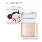 Karadium Pucca Shine Up Finish 9g. ไฮไลท์สีสวยที่ช่วยเพิ่มมิติให้ใบหน้า ช่วย ให้หน้ามีมิติ และ กระจ่าง หลังแต่งหน้าใช้แปรงปัดให้ทั่วหน้าเลยค่ะ