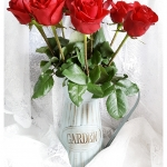 "GARDEN" Tin Vase