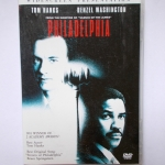 DVD /PHILADELPHIA /TOM HANKS/DENZEL WASHINGTON