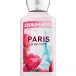 Bath & Body Works Paris Amour Body Lotion 236 ml. ครีมบำรุงผิวชุ่มชื่นมีกลิ่นหอมติดทนนานตลอดวัน กลิ่นหอมเย้ายวนกลิ่นไอเมืองแฟชั่นให้ความรู้สึกหรูหรามีระดับ
