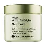 ลด 35% Origins Dr. Andrew Weil for Origins™ Mega-Bright Dark Spot Correcting Night Mask 75 ml. มาส์กเพื่อผิวดูเปล่งประกายเพียงข้ามคืน ด้วยมหัศจรรย์แห่งธรรมชาติ ตรงเข้าดูแลที่ต้นเหตุจุดด่างดำ หมดกังวลกับปัญหาสีผิวหมองคล้ำ ไม่สม่ำเสมอ ผิวดูเปล่งปลั่งสดใส สั