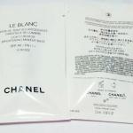 Chanel Le Blanc Light Creator Brightening Makeup Base SPF40 PA+++ # 10 Rosee ขนาดทดลอง 2.5 ml. เบสที่ช่วยปรับโทนสีผิวตามธรรมชาติให้สว่างเรียบเสมอกัน ลดรอยตำหนิ เครื่องสำอางติดทนนานยิ่งขึ้น และช่วยให้ผิวเปล่งประกายเป็นธรรมชาติได้ยาวนานถึง 8 ชั่วโมง