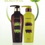 HyBeauty Vitalizing Hair & Scalp Shampoo และ Conditioner แพคคู่ แชมพูไฮบิวตี้ และ ครีมนวดผมไฮบิวตี้ สมุนไพรบริสุทธิ์เข้มข้นจากเกาหลี ใช้แล้ว ผมนุ่มสลวย ไม่ฟู จับแล้วนุ่ม ที่สำคัญ ผมหงอก ค่อยๆหายไป ดีท๊อกสารเคมีออกจากผม แก้ปัญหาผมร่วง ผมบาง